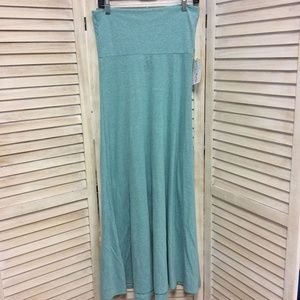 NEW Aqua LuLaRoe Maxi Skirt